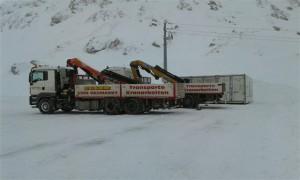 Transporte_6, Transporte, Container, Egger Transporte, Winter